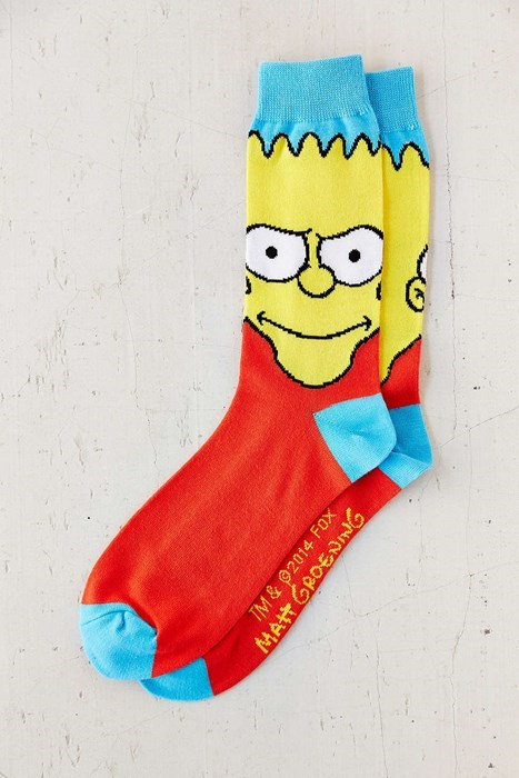 poorly dressed socks bart simpson the simpsons - 8400171520