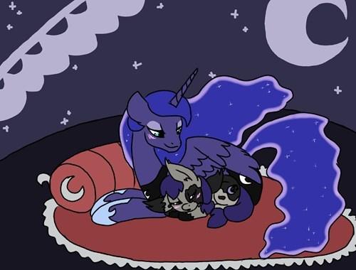 Luna's Softer Side