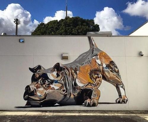 Street Art mind blown hacked irl - 8400589824