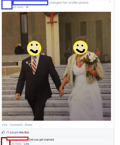 no duh facepalm wedding failbook g rated