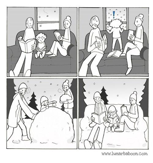 snow winter web comics - 8400610816
