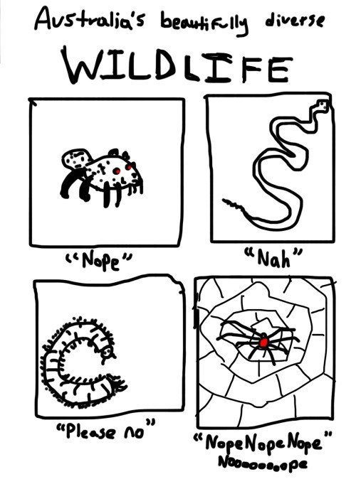 nature,nope,australia,web comics