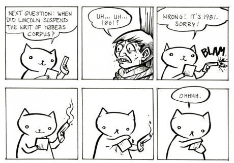 guns sad but true Cats web comics - 8400963328