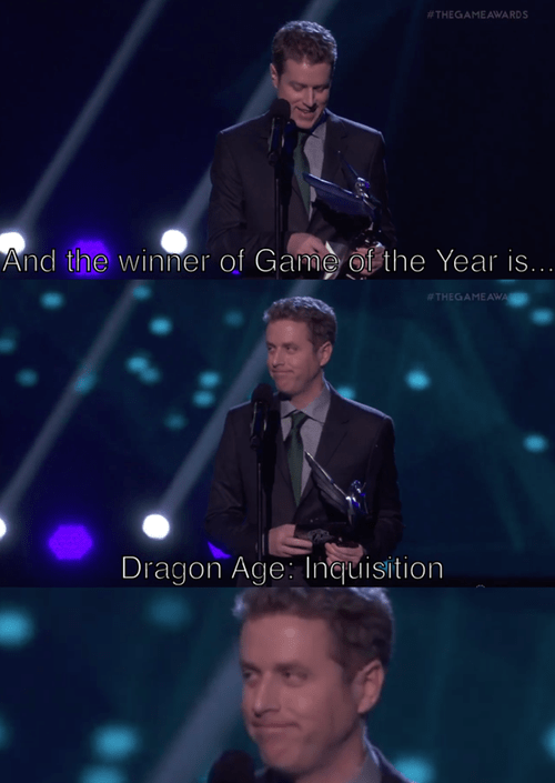 the game awards,geoff keighley,dragon age inquisition