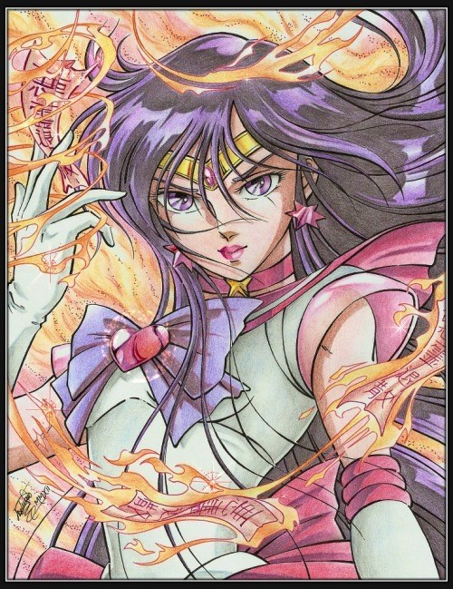 anime Fan Art sailor moon - 8401488128