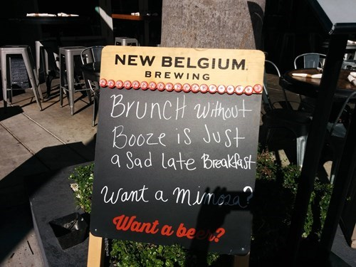 Sad breakfast booze brunch funny - 8401763584