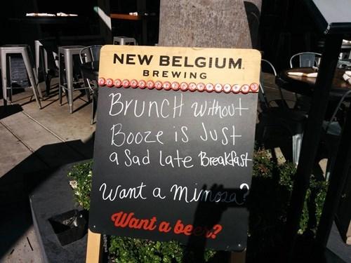 Sad breakfast booze brunch funny - 8401763584