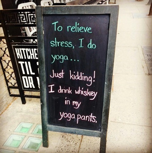 sign whiskey stress pub funny after 12 g rated