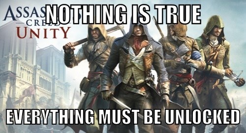 The Creed for Assassins in Assassin's Creed Unity