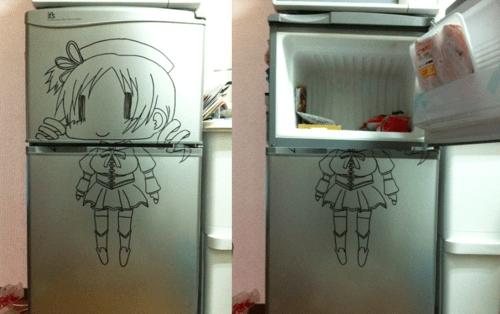Puella Magi Madoka Magica IRL anime freezer - 8402308608