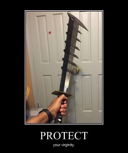 funny virgin sword wtf - 8402432256