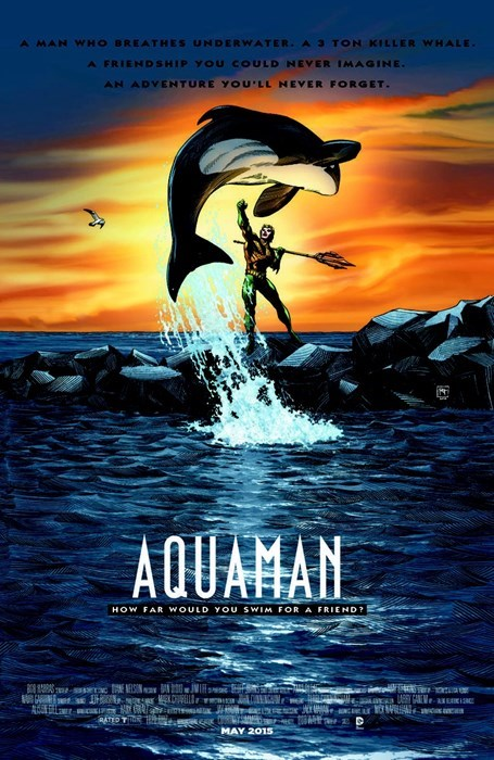 movie poster aquaman free willy - 8402509056