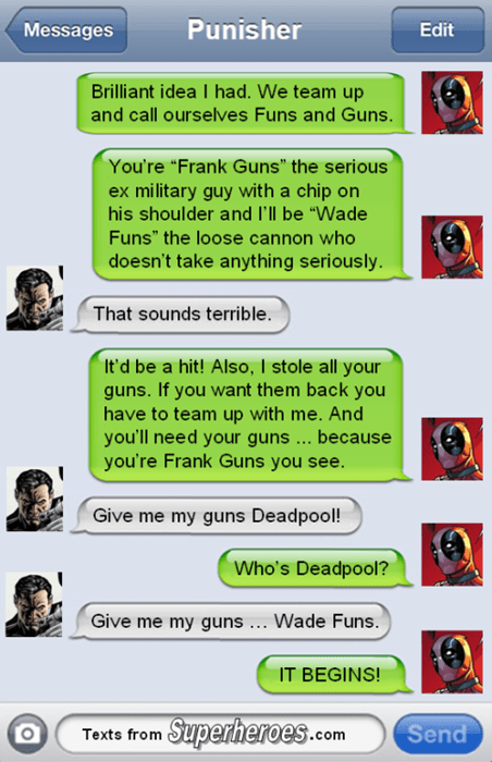 buddy the punisher deadpool - 8402511616