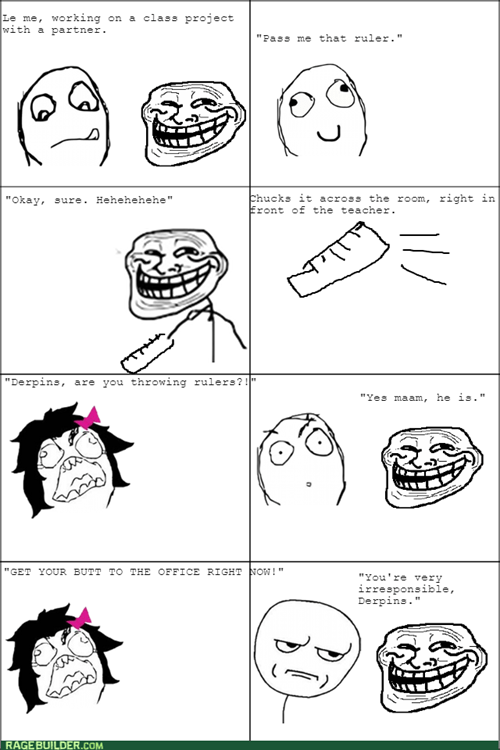 trollface school teacher - 8402550272