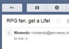 RPG email fantasy life nintendo - 8402628352