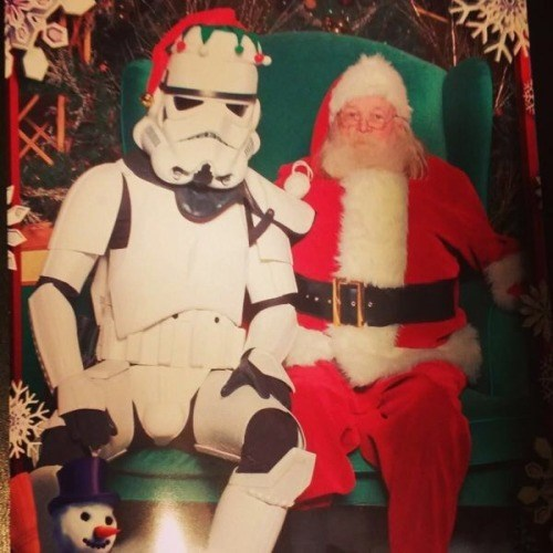 christmas star wars stormtrooper santa - 8402690048