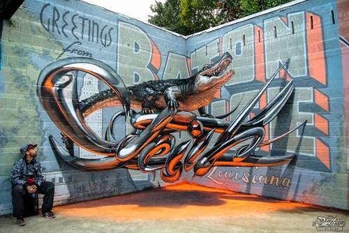 Street Art graffiti hacked irl perspective - 8402695424