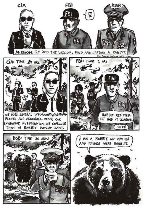 FBI cia sad but true KGB web comics - 8402727424