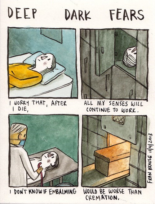 fears,Death,sad but true,web comics