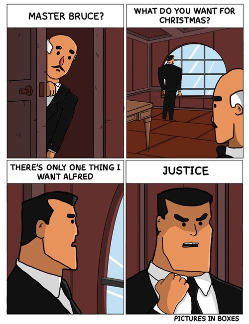 christmas,justice,alfred pennyworth,batman,web comics