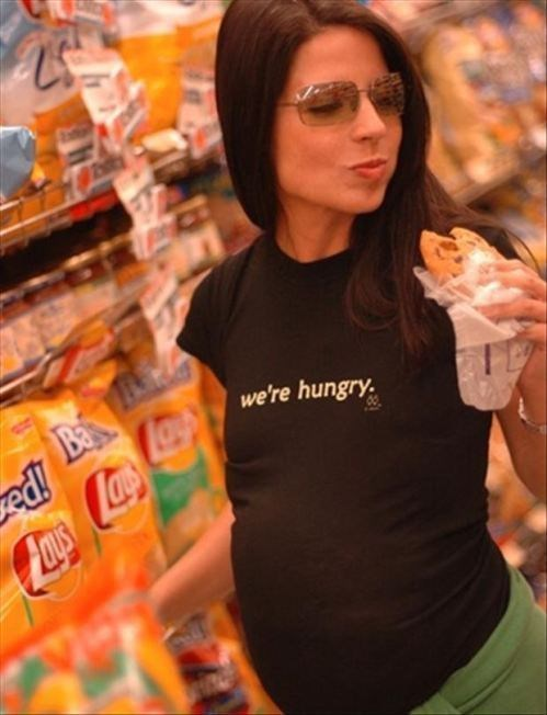 hungry poorly dressed parenting t shirts hunger games pregnant - 8403265280