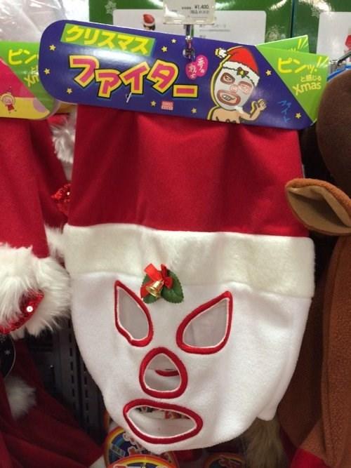 christmas poorly dressed santa santa hat - 8403280640