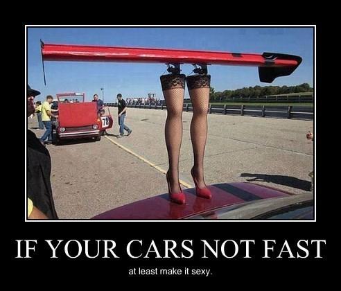 cars spoiler legs funny - 8403378688