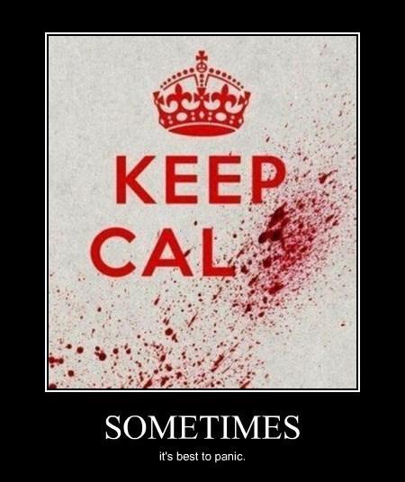 panic funny keep calm - 8403380736
