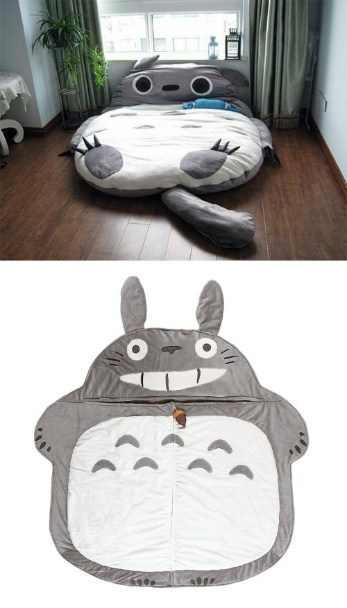 bed,totoro,for sale,naps,ebay
