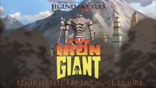 Fan Art Avatar the Iron Giant korra - 8403464448