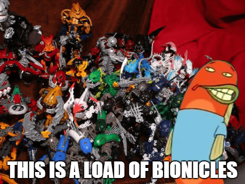 SpongeBob SquarePants puns bionicle - 8403478528