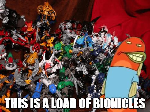 SpongeBob SquarePants puns bionicle - 8403478528