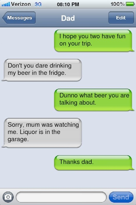 text parenting dad liquor funny - 8403482368