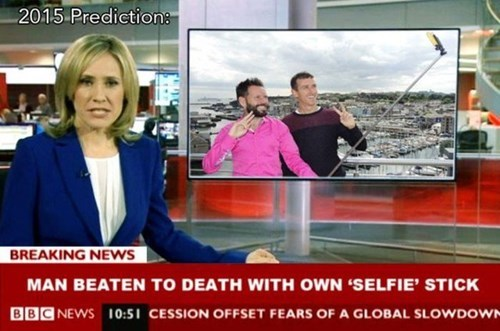 news satire selfie - 8403503616