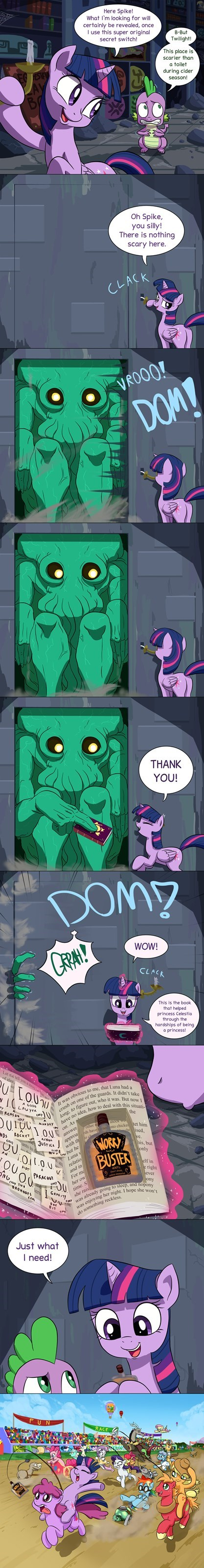 race,twilight sparkle,berry punch,cthulhu