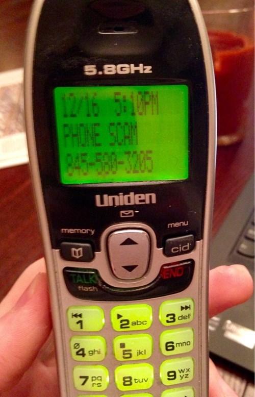 phone scam phone - 8403557888