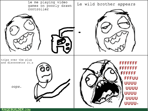 rage,brother,video games