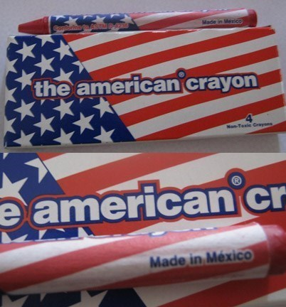 made in mexico mexico China crayons - 8403745536