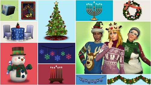 sims 4 holiday update 2014