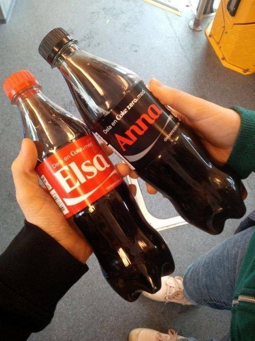 Drink - Dela en Cole.med Blsa Anna delagnc Dela en Coke zero.med