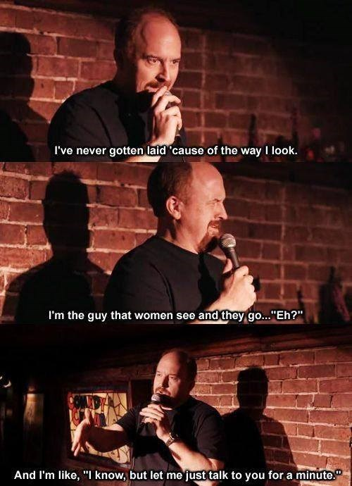 attractive,louis ck,funny