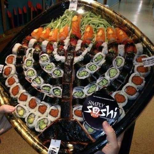 hanukkah sushi menorah food - 8404227840