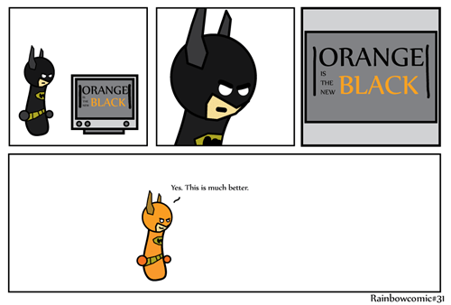 batman,web comics,orange is the new black