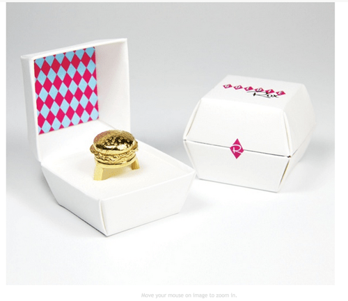burger Jewelry poorly dressed rings g rated - 8404347904