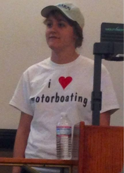 motorboating,t shirts,poorly dressed