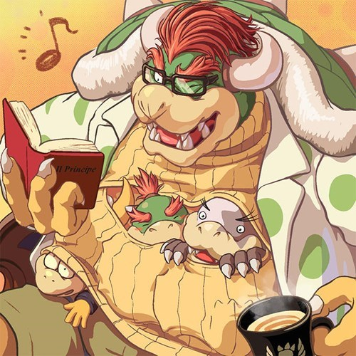 Fan Art keyhole turtleneck cute bowser Boobees - 8404454912