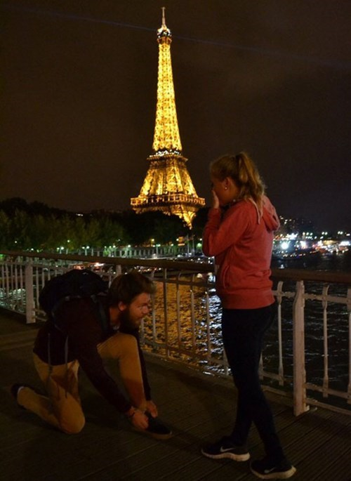 marriage paris proposal relationships eiffel tower weddings dating - 8404485888