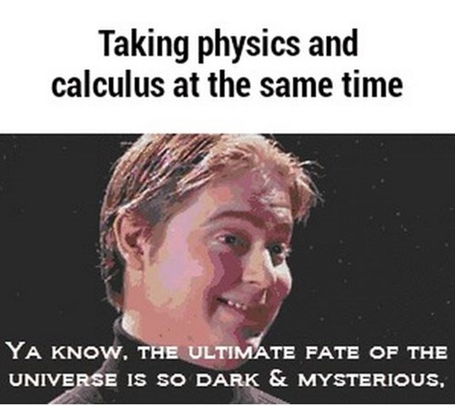 physics confusing universe science funny - 8404491008