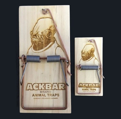 star wars design mouse trap admiral ackbar g rated win - 8404586240