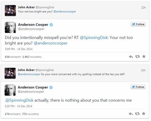 twitter trolling Anderson Cooper burn failbook g rated - 8404589824